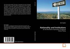 Portada del libro de Rationality and Institutions
