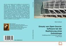 Einsatz von Open-Source-Software bei der Realisierung eines Onlineshops的封面