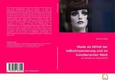 Buchcover von Mode als Mittel der Selbstinszenierung und im künstlerischen Werk
