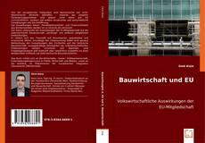 Bookcover of Bauwirtschaft und EU