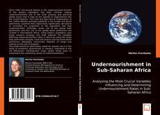 Buchcover von Undernourishment in Sub-Saharan Africa