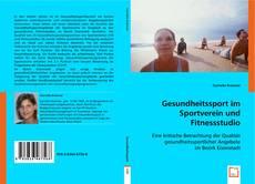 Bookcover of Gesundheitssport im Sportverein und Fitnessstudio