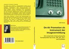 Bookcover of On-Air Promotion als Instrument der Imagevermittlung