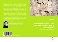 Capa do livro de Fundamentalismus unter türkischen Jugendlichen in Deutschland