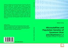 Bookcover of Microsatellites and Population Genetics of Sycamore (Acer pseudoplatanus L.)