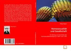 Buchcover von Homosexualität und Gesellschaft