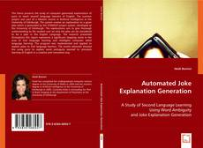 Bookcover of Automated Joke Explanation Generation