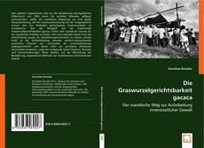 Buchcover von Die Graswurzelgerichtsbarkeit gacaca.
