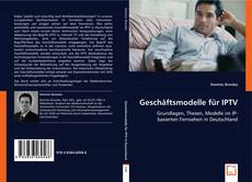 Capa do livro de Geschäftsmodelle für IPTV
