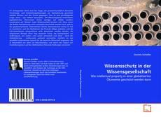 Buchcover von Wissensschutz in der Wissensgesellschaft