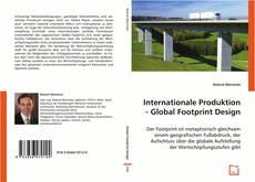 Обложка Internationale Produktion - Global Footprint Design