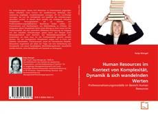 Buchcover von Human Resources im Kontext von Komplexität, Dynamik & sich wandelnden Werten