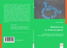 Обложка Behinderung im Kulturvergleich