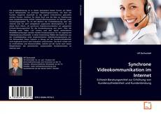 Bookcover of Synchrone Videokommunikation im Internet