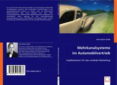 Обложка Mehrkanalsysteme im Automobilvertrieb