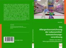 Buchcover von Die Allergenkennzeichnung der Lebensmittelkennzeichnungsverordnung