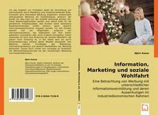 Обложка Information, Marketing und soziale Wohlfahrt