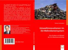 Bookcover of Umweltinnovationen im EU-Mehrebenensystem