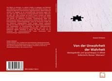 Buchcover von Von der Unwahrheit der Wahrheit