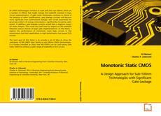 Couverture de Monotonic Static CMOS