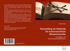 Buchcover von Storytelling als Methode für kultursensitiven Wissenstransfer