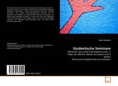 Couverture de Studentische Seminare
