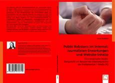 Bookcover of Public Relations im Internet: Journalisten-Erwartungen und Website-Inhalte