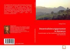 Portada del libro de Dezentralisierungsprozesse in Kamerun