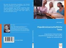 Couverture de Populärwissenschaftliche Texte