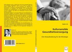 Buchcover von Kultursensible Gesundheitsversorgung