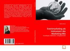 Capa do livro de Eventmarketing als Instrument des Marketing-Mix