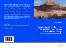 Bookcover of Experimental Study of the Carbon-Nitrogen-Oxygen Cycle at Low Energy