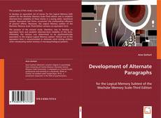 Bookcover of Development of Alternate Paragraphs