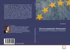Bookcover of Das Europäische Parlament