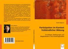 Portada del libro de Partizipation im Kontext frühkindlicher Bildung