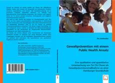 Обложка Gewaltprävention  mit einem Public Health Ansatz