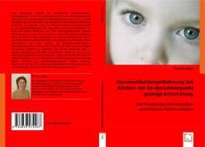 Buchcover von Kommunikationsanbahnung bei Kindern mit Förderschwerpunkt geistige Entwicklung