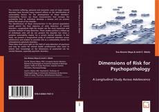 Copertina di Dimensions of Risk for Psychopathology