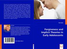 Capa do livro de Forgiveness and Implicit Theories in Early Adolescents