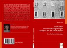 Copertina di Heimarbeit in der deutschsprachigen Literatur des 19. Jahrhunderts