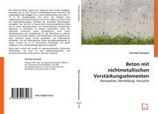 Beton mit nichtmetallischen Verstärkungselementen kitap kapağı