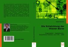 Copertina di Die Entwicklung der Wiener Börse