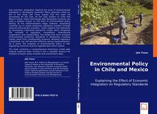 Bookcover of Environmental Policy in Chile and Mexico