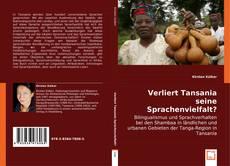 Bookcover of Verliert Tansania seine Sprachenvielfalt?