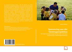Sponsoring aus der Vereinsperspektive kitap kapağı