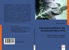 Copertina di Informationseffizienz der ukrainischen Börse PFTS