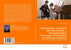 Capa do livro de Teaching Music to Students with Special Needs: A Phenomenological Examination of Participants in a Fieldwork Experience