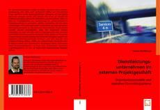 Bookcover of Dienstleistungsunternehmen im externen Projektgeschäft