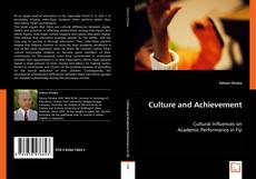 Culture and Achievement的封面