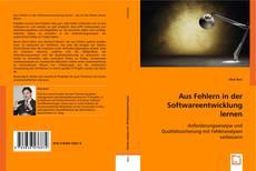 Capa do livro de Aus Fehlern in der Softwareentwicklung lernen
